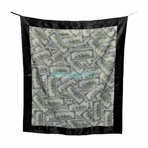 Bag to Poker Streamer (US Dollar Version) -- Stage Magic - Bemagic