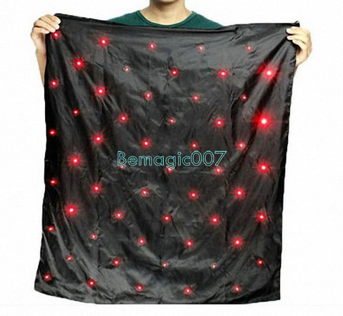 Blendo Bag With Blue Lights Red  -- Stage Magic - Bemagic