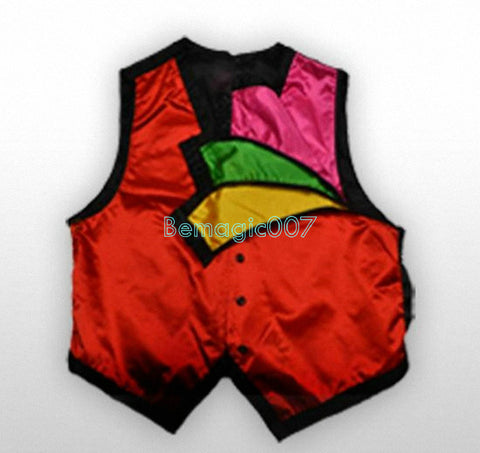 Color Changing Vest -- Silk & Cane Magic - Bemagic