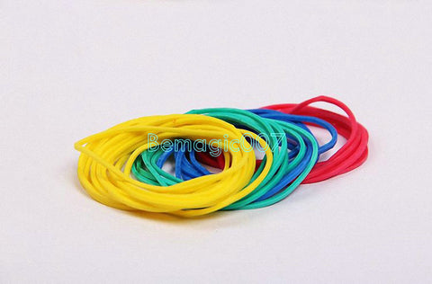 120 pieces Colorful Rubberband --Magic Accessories - Bemagic