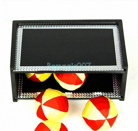 Dismantled Secret Box(with six balls, six paperflower) -- Stage Magic - Bemagic
