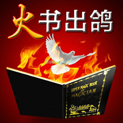 Dove & Fire Book - Fire Magic - Bemagic