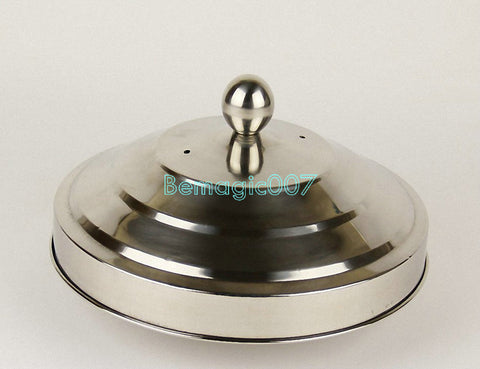 Dove Pan (Deluxe) Double Load Silver  -- Stage Magic - Bemagic