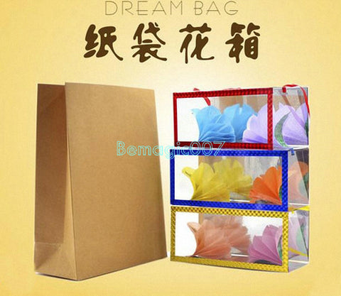 Dream Bag  / Appearing Flower Boxes -- Stage Magic - Bemagic