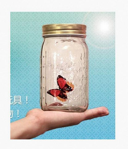 Electronic Butterfly in a Jar - Close Up Magic - Bemagic