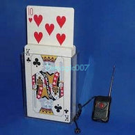 Electronic Jumbo Card Rise  -  Card Trick Magic - Bemagic