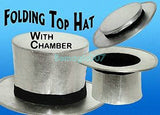 Folding Top Hat --Magic Accessories - Bemagic