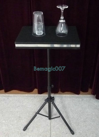 Glass Breaking And Coin into Glass Table  -- Stage Magic - Bemagic