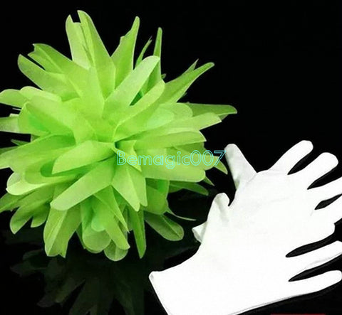 Gloves To Bouquet -- Stage Magic - Bemagic