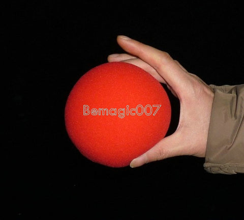 Jumbo Sponge Ball (4 Inches) 10 cm - Close Up Magic - Bemagic