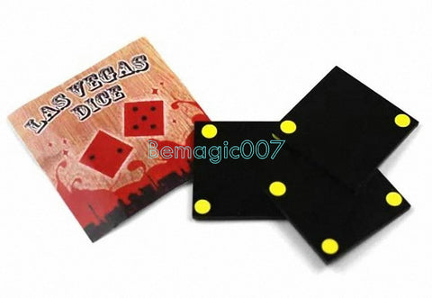 2 pcs/lot Las Vegas Dice  - Close Up Magic - Bemagic