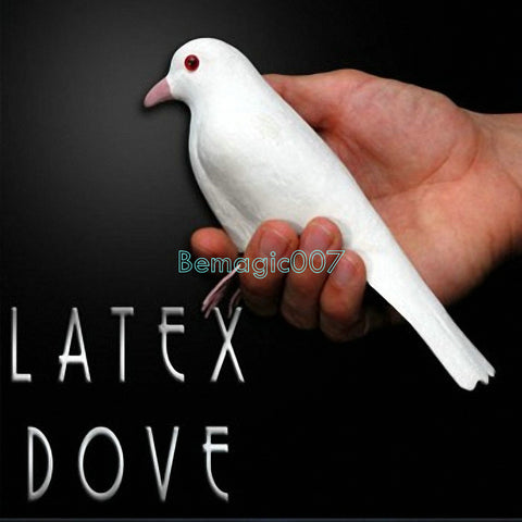 Life-Like Dove Latex Dove -- Stage Magic - Bemagic