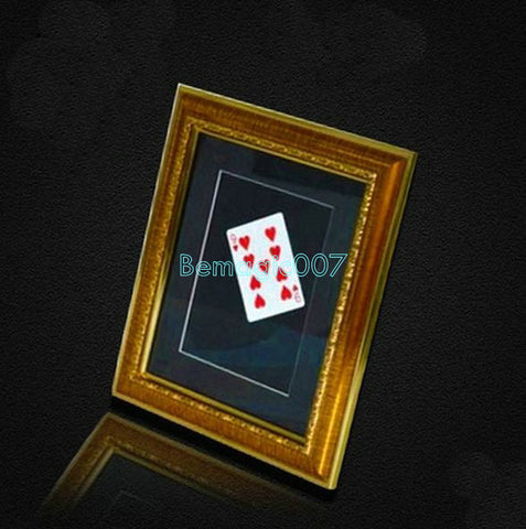Lightning Card Into The Photo Frame  -  Card Trick Magic - Bemagic