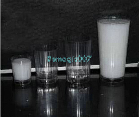 Milk Glass Illusion -- Stage Magic - Bemagic