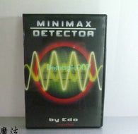 Minimax Detection ( DVD and Gimmick )-- Mentalism Magic
