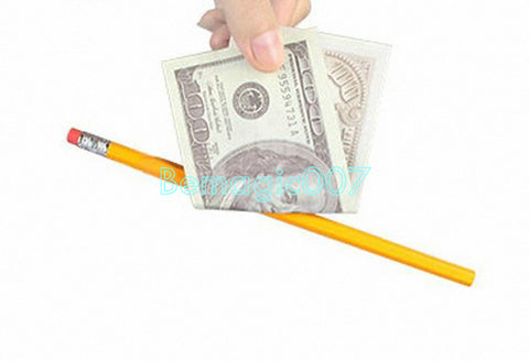 Misled Pencil Through Bill - Coin&Money Magic - Bemagic