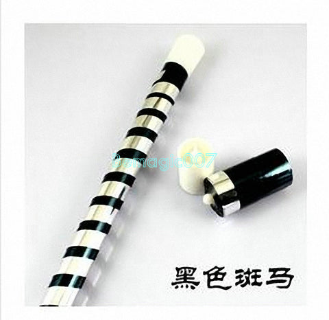 Plastic Vanishing Cane -- Silk & Cane Magic