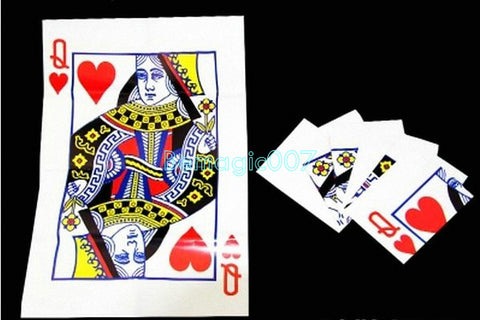 Queen Restored -  Card Trick Magic - Bemagic