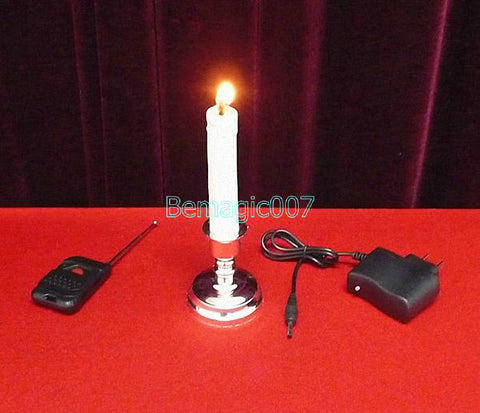 Remote Control Candle -- Stage Magic - Bemagic