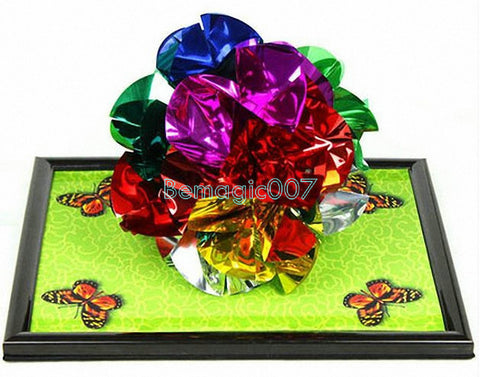 Spring Flowers Frame -- Stage Magic - Bemagic