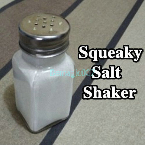 Squeaky Salt Shaker -- Stage Magic - Bemagic