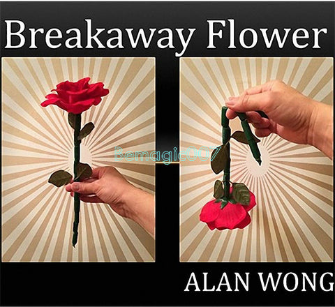 The Breakaway Flower - Close Up Magic - Bemagic