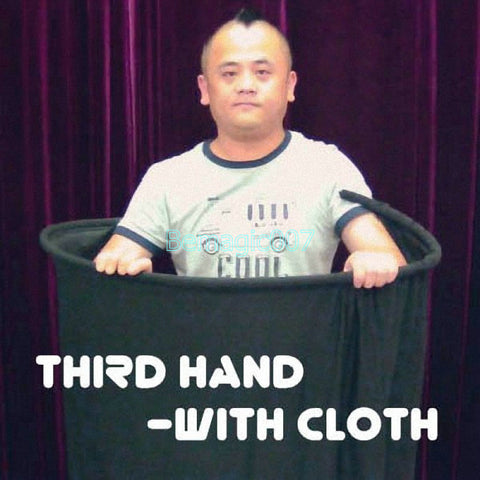 Third Hand With Cloth -- Stage Magic - Bemagic