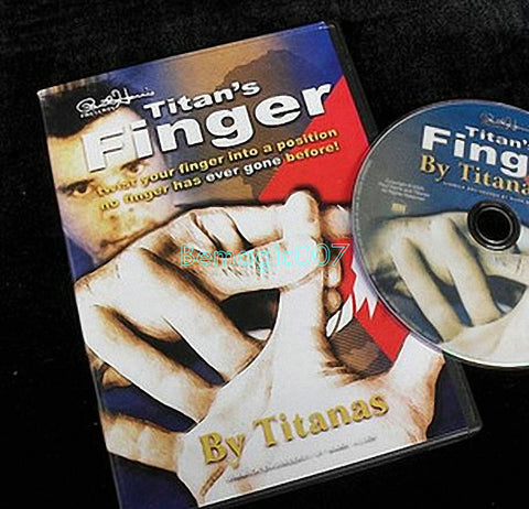 Titan's Finger (DVD and Gimmick)  - Close Up Magic - Bemagic