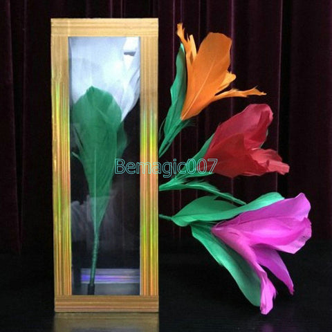 Transparent Tube Appearing Flowers -- Stage Magic - Bemagic
