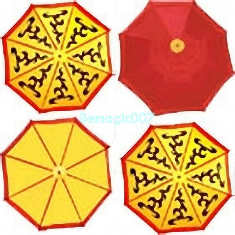 Umbrella Changes Color (Twice Changes)- Parasol Production Magic - Bemagic