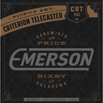 EMERSON - CRITERION TELECASTER PICKUP SET