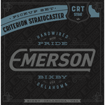 EMERSON - CRITERION STRATOCASTER PICKUP SET