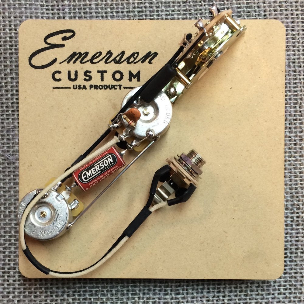 Esquire Wiring Harness Just Another Diagram Blog Fender Telecaster 3 Way Prewired Kit Emerson Custom Rh Emersoncustom Com Uk
