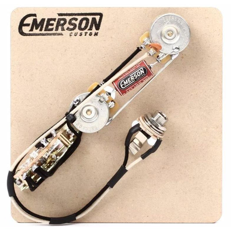 reverse control 3 way telecaster prewired kit \u2013 emerson custom Electric Guitar Pickup Wiring Diagrams reverse control 3 way telecaster prewired kit
