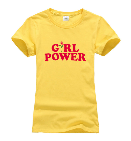 Girl Power T-shirt for Feminists