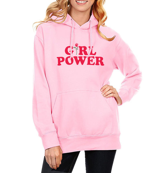 Girl Power Hoodie for Feminists