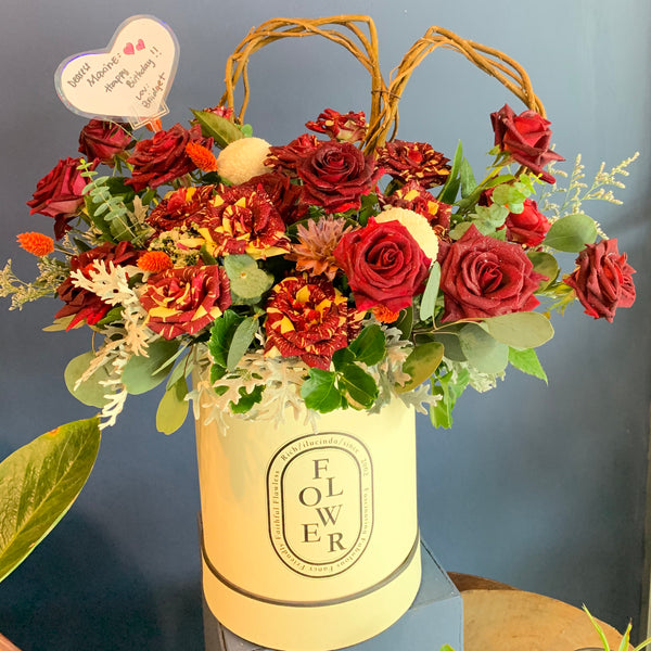 Box Flower Design 3
