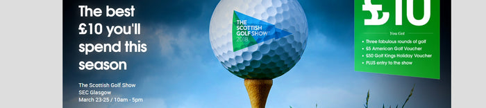 Take a 'Vertical Selfie' at Scottish Golf Show 2018 - and win the 5 Wood!