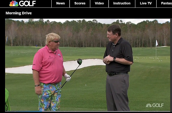 Click to see John Daly hit Vertical Groove Golf 3 Wood on Golf.com @vertgroovegolf