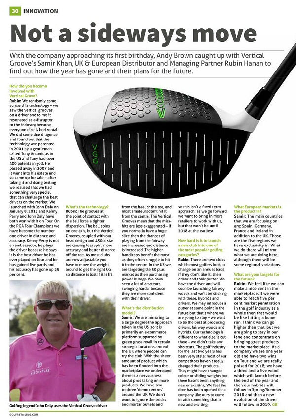 Click to see issue. Vertical Groove Golf @vertgroovegolf