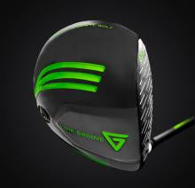 Vertical Groove Golf Driver