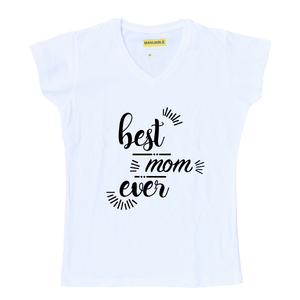Playera Best Mom Ever - Gal