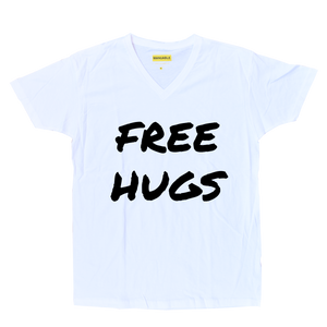 Playera FREE HUGS - Guy