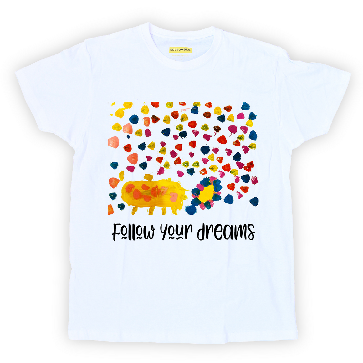 Playera Follow Your Dreams - Guy
