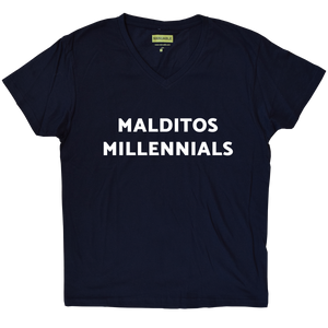 Playera Malditos Millennials - Guy