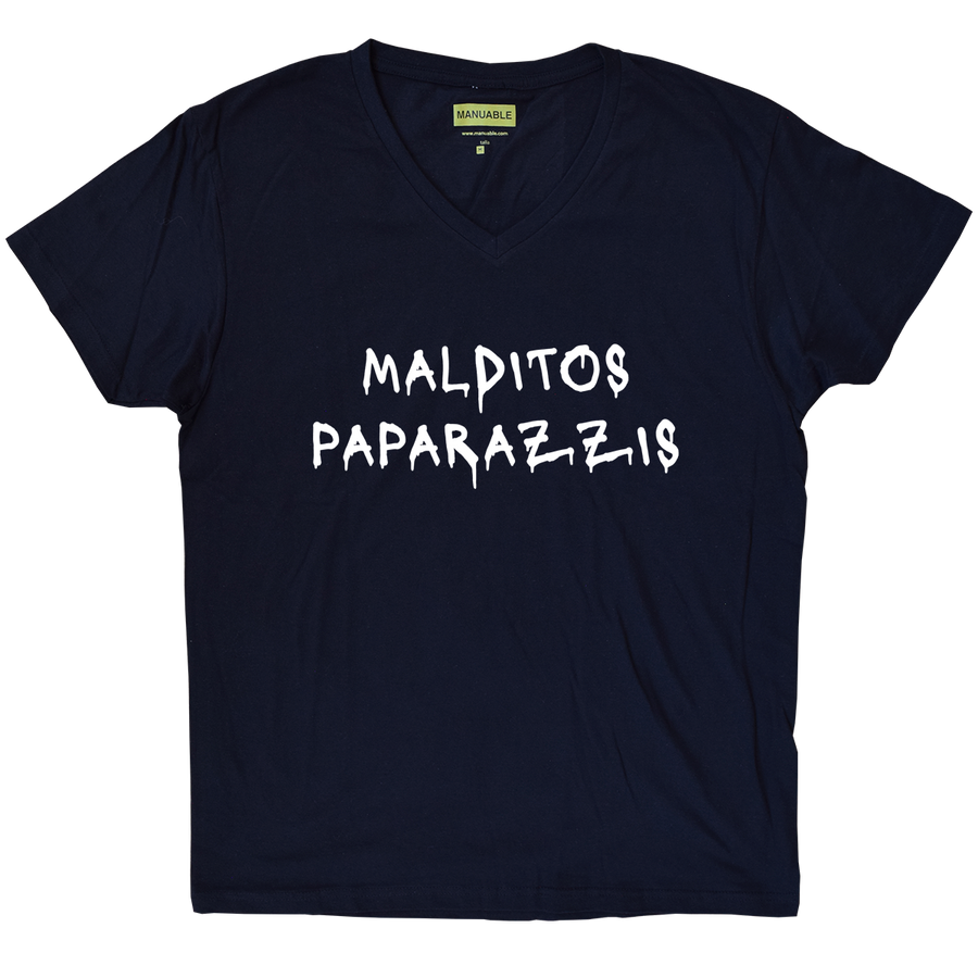 Playera Malditos Paparazzis - Guy
