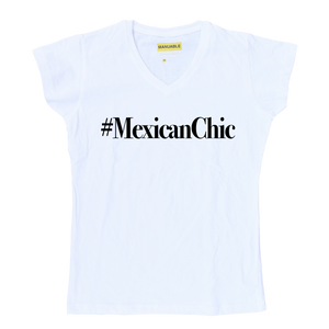 Playera #MexicanChic - Gal