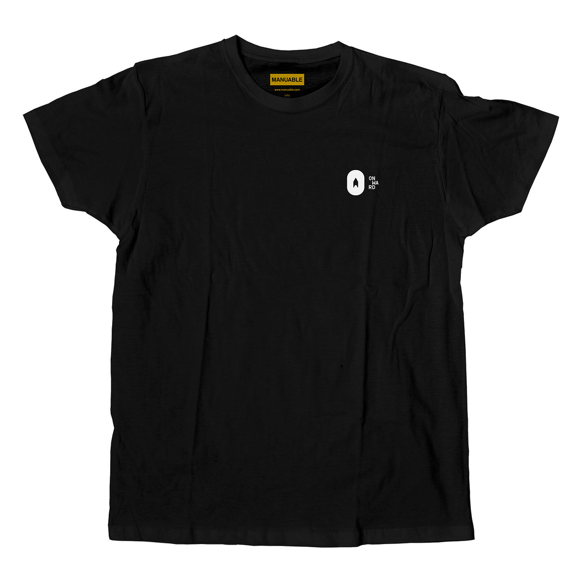 Onward - Playera Simple Negra