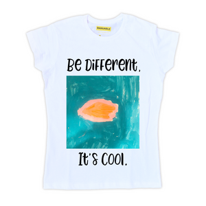 Playera Be Different - Gal
