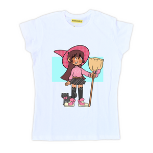 Playera Cat Witch